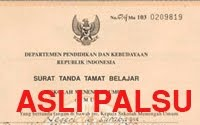 Jasa Pembuatan Ijazah Palsu Terpercaya - Terbaik - Termurah - Teraman 2011 - 2012