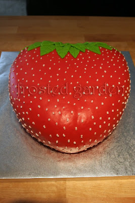 Special Strawberry Birthday Cakes