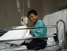 ALMARHUM HAIQAL DI HOSPITAL