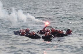 Entrenamiento de Supervivencia en el Mar