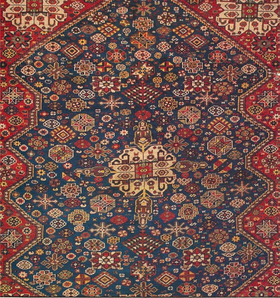 Qashqai Shiraz Rug: TEA AND CARPETS: The Qashqai And Other Tribal Carpets Of