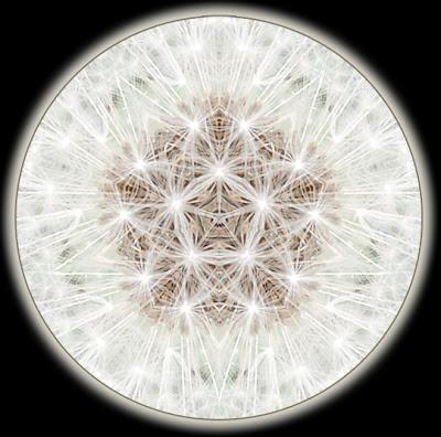 points of light mandala