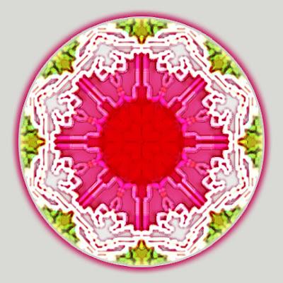 lilypad mandala