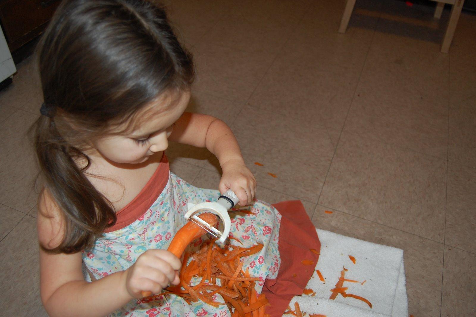[peeling+carrots]