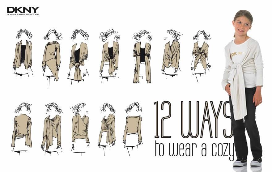 Como hacer el saco origami o cozy de DKNY (molde y como usarlo)