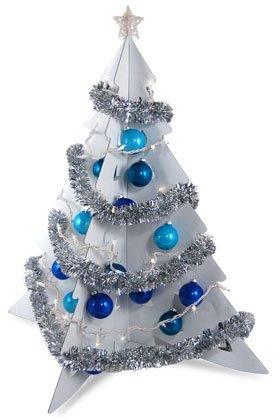 Arbol de Navidad en carton reciclado (3D de encastre)