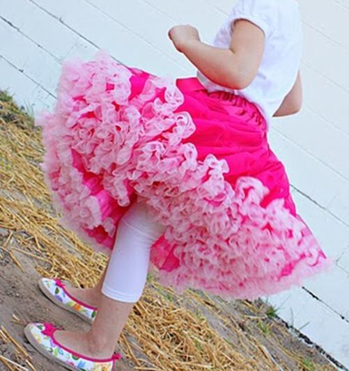 Falda de baile Tutu de volados con movimiento (pettiskirt)