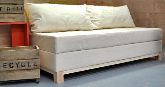 Como hacer un sillon o sofa cama con baul, paso a paso