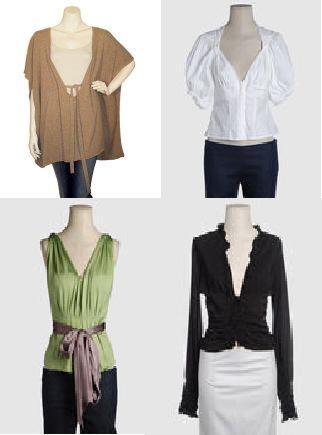 Como vestirse segun nuestro tipo de cuerpo: tipos de escote