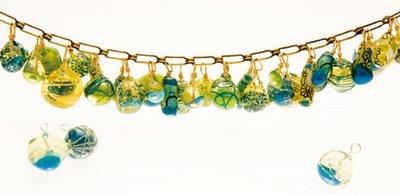 Cuentas de papel reciclado, para hacer tus propias joyas (bijouterie)