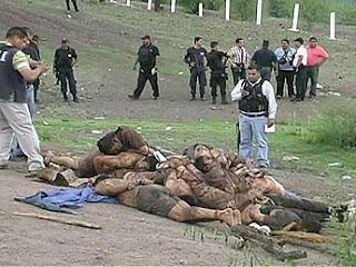 los enfrentamientos entre Los Narcos y Las Fuerzas de Seguridad