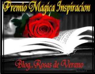 """PREMIO """"MAGICA INSPIRACION"""""""