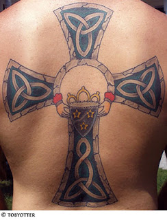 tattoo drawing of Celtic Cross