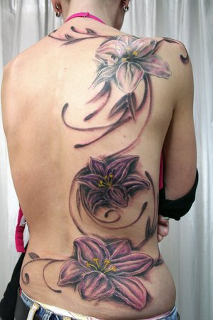 Flower Tattoo Designs on Ankle Gallery 6 Flower Tattoo Designs on Ankle
