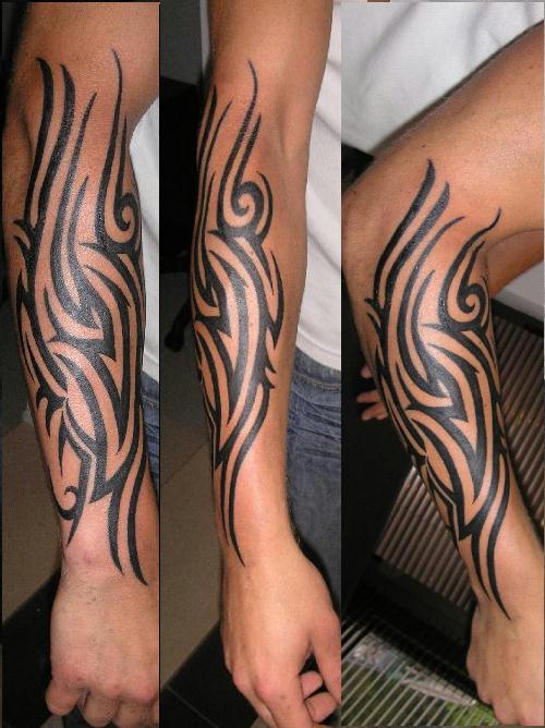 tribal tattoo hands