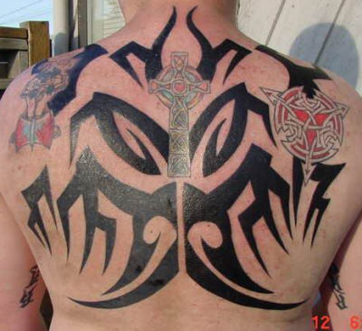 back tribal tattoo gallery - Ready Sense