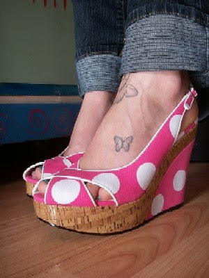 cute tattoo designs. Cute Foot Tattoo - The Joys of