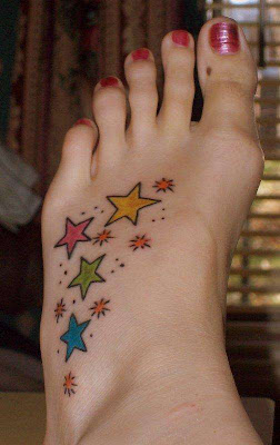 The popularity of the wrist star tattoos is on the rise, as shown by the