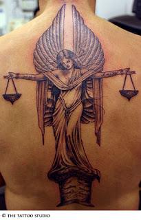Libra Scales Tattoo