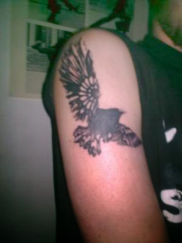 But the raven tattoo designs is also a solar symbol.