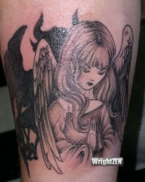 1000 images about pt tatoo on pinterest angels tattoo angel devil tattoo and angel tattoo. Black Bedroom Furniture Sets. Home Design Ideas