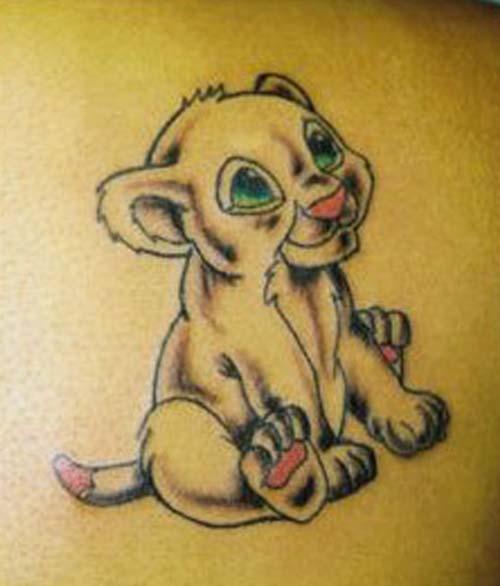 Art Leo Zodiac Tattoos Design