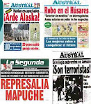 Mapuches en Diarios