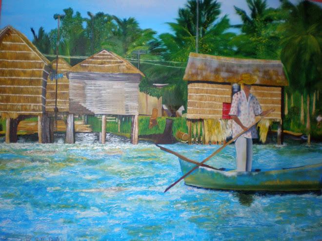 Pequeña Venecia (Actual Laguna de Sinamaica) Estado Maracaibo, Venezuela (Paulette Bello)