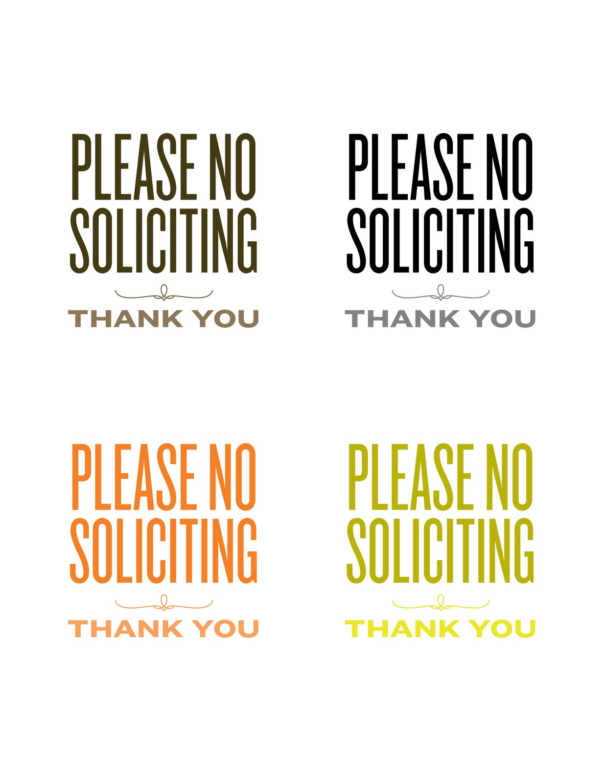 This is a graphic of Shocking Free Printable No Soliciting Sign