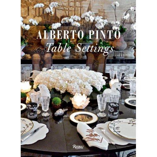 The Peak of Chic®: Alberto Pinto Table Settings
