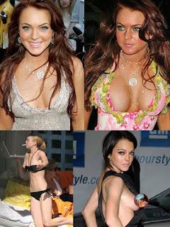 oops Lindsay lohan
