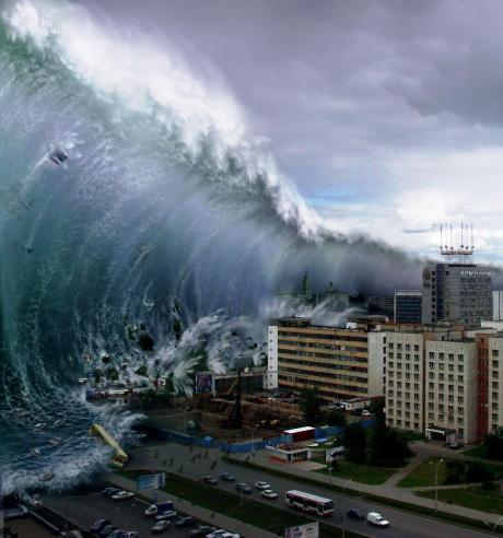 موج سونامی و تسونامی