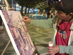 Pintor Porteño Hector Inostroza