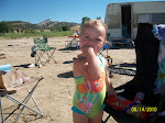 Brookelynn's first camping trip