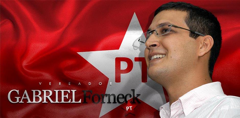 Vereador Gabriel Forneck