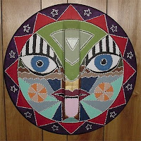 garbage can lid mask