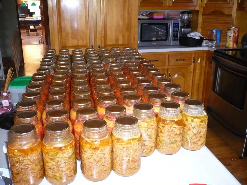 Recettes de conserves maison novembre 2009 for Aubergines en conserve maison