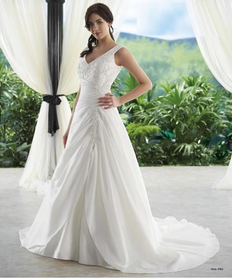 vestidos de novia sencillos. BODAS