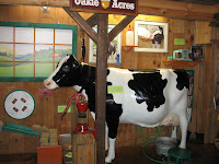cow at childrens museum in maine
