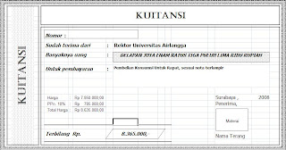 Software Pembuat Kwitansi Krishand Komputer Tips Dan Trick