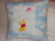 My embroidered Pooh cushion