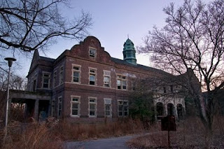 The Administration Building at Pennhurst State Hospital