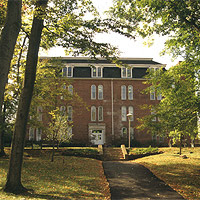 Harris Hall at Keystone College