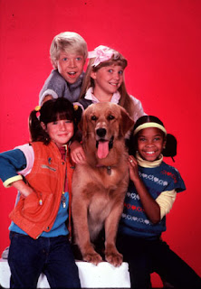 Soleil Moon Frye Punky And Brandon The Wonder Dog From Show
