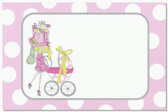 Aqui les dejo unas tarjetas que utilizé para el baby shower de mi ...