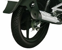 Bajaj XCD 135 Silencer Picture
