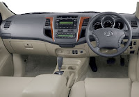 Toyota Fortuner Interior Picture