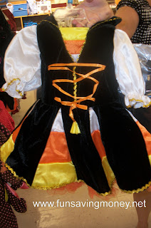 Halloween costumes at Marshalls
