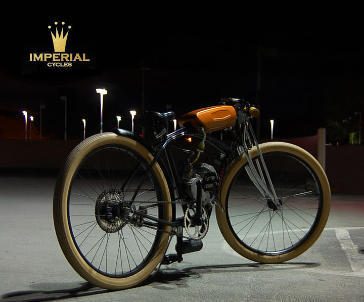 Imperial cycles store custom motorized bicycle parts store for Custom motorized bicycles parts