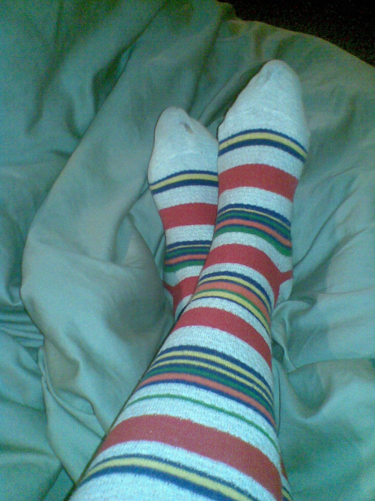sukkikset jalassa Kalajoki